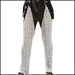 Chain Mail Leggings, Chausses and Mitten Gauntlets
