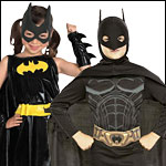 Children's Batman Halloween Costumes and Accessories