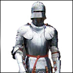 Functional Suits of Armour designed to meet the needs of various re-enactment groups.