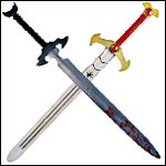 Latex Foam Swords form Roman Medieval to Fantasy Eagle Flex