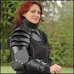 Leather Female Armour