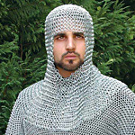 Chainmail Coifs, Chain Mail Coifs and Mantles