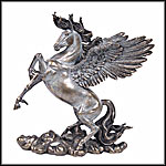 Pegasus and Unicorns Statues