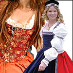 Women's Medieval and Renaissance Clothes