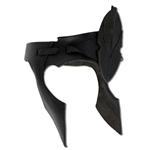 Leather Elven Head Band - Black