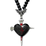 Heart of Darkness Necklace 17-P552