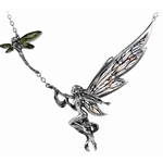 A Fairy's Dream Necklace Pewter Alchemy P564
