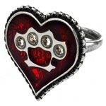 Tough Love Ring Pewter Alchemy ULFR5