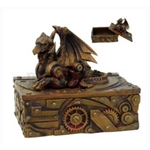 Steampunk Dragon Box 18-8652