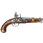 French Cavalry Flintlock Pistol ca 1800