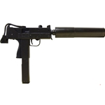 Machine Pistol Non Firing Replica MAC-11 with Silencer