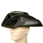 Jack Sparrow Leather Tricorn Pirate Hat