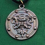 Green Man Necklace 200054