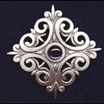 Renaissance Scroll Brooch 21-2048