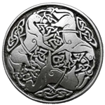 Small Celtic Horse of Epona Button 21-2067