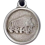 Celtic Boar Nacklace 21-2223