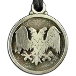 Double Headed Eagle Pendant 21-2230