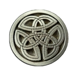 Celtic Triskelion Knot Button 21-2248