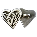 Celtic Heart Button 21-2249