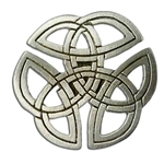 Celtic Knotwork Brooch 21-2355