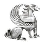 Griffin Brooch Pin 106.0631