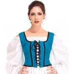 Reversible Wench Bodice Decorated