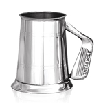 Golf Handle One Pint Pewter Tankard