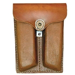 1911 Leather Dual Mag Pouch 24-04551