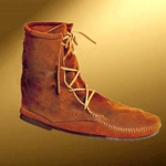 Mens Low Suede Boot Without Fringe 26-100322