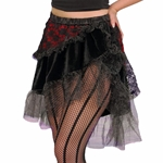 High Seas Pirate Skirt - Steampunk Skirt