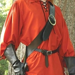 European Baldric Left Black 26-200424