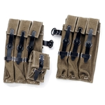 German WWII MP 38/40 Mag Pouches