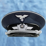 German WWII Luftwaffe Officer's Cap Reproduction