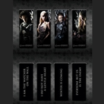 Game of Thrones Magnetic Book Mark Set 286-21-111