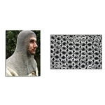 Chainmail Coif Square Face Code 5 29-AB2555