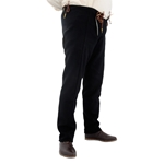 15th Century Pants, Black, XXL 29-GB0250