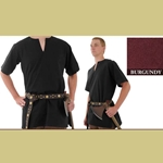 Medieval Tunic, Burgundy, Medium