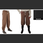 Pirate Pants, Black, Extra Large 29-GB3743