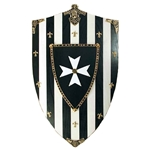 Wooden Shield-Hospitaliers Knights 31-AG877