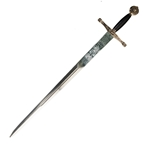 Excalibur Sword Gold Black 31-SG203