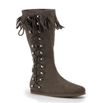 Side Laced Boots 34-Indian100