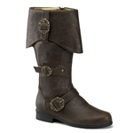 Caribbean Pirate Boots 34-1108