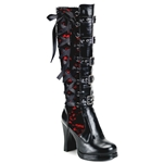 Crypto Corset Mini Platform Knee Boot 34-3042