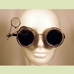 Steampunk Eye-Loupe Goggles 35-2002