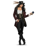 Pirates Of The Caribbean - Angelica Prestige Adult Costume 38-800265