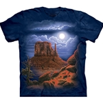 Desert Nightscape Adult Plus Size T-Shirt