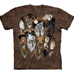 Animal Feathers Adult Plus Size T-Shirt 43-1016890