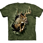 Breakthrough Deer Adult Plus Size T-Shirt 43-1017400