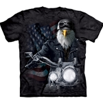 Biker Stryker Adult Plus Size T-Shirt 43-1032410