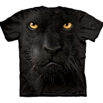 Black Panther Face Adult Plus Size T-Shirt 43-1032460